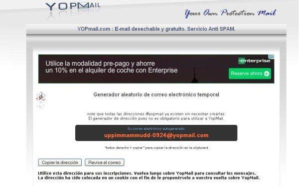 generador-correo-electronico-falso-yopmail