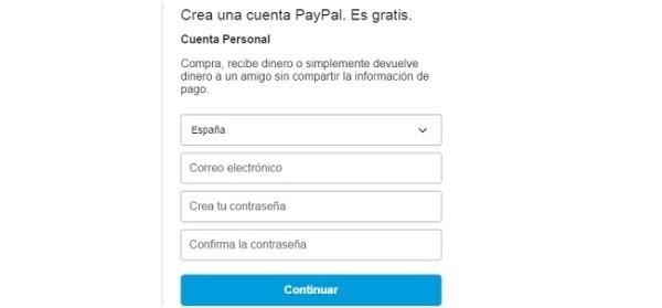cuentas paypal