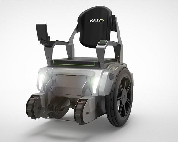 La silla de ruedas que sube y baja escaleras for Silla que se hace escalera
