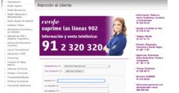 Teléfono gratuito Renfe – Atención al Cliente