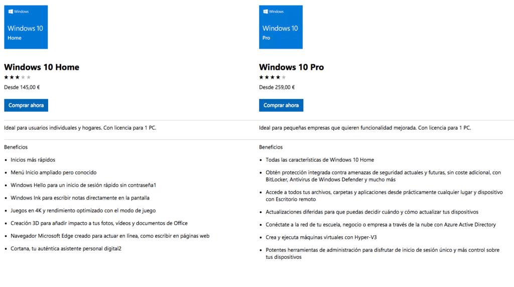 bajar windows 10 gratis en español completo