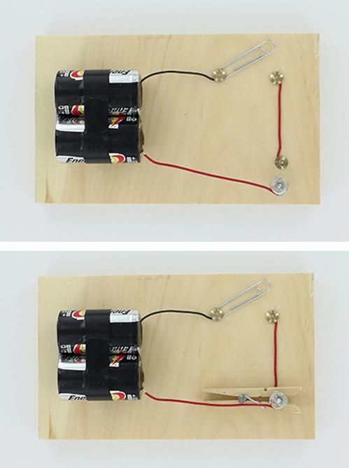 Circuito Electrico Simple Con Interruptor : Como hacer un circuito eléctrico de corriente continua y alterna