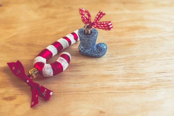 Tarjetas de navidad candy