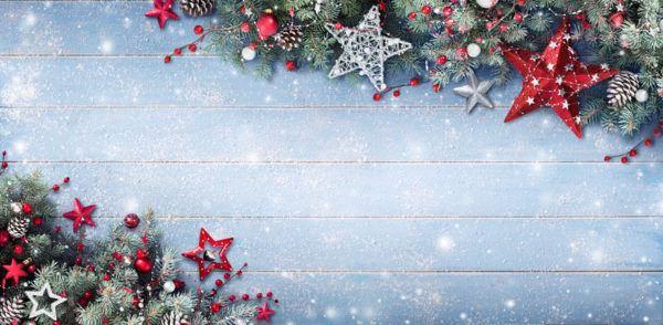 Tarjetas de navidad nieve