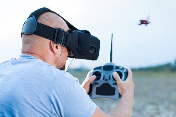 Drone con fpv