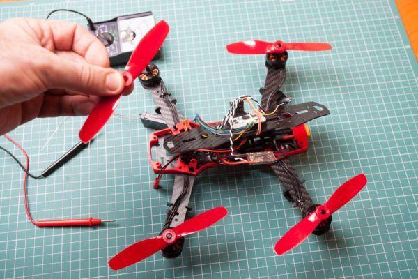 Que partes tiene un drone