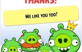 Anunciado Angry Birds para Facebook