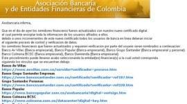 Cuidado Phishing en Colombia: Asociación Bancaria y de Entidades Financieras de Colombia