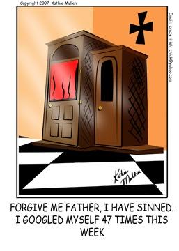 Que opinas de las confesiones por Internet?