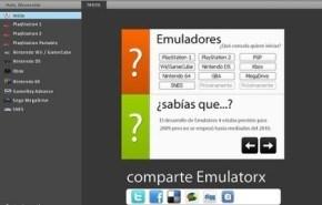 Emular consolas con Emulatorx