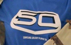 Campaña Caught on CCTV Samsung Galaxy Player 50
