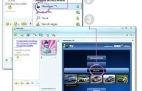 Messenger TV: permite a dos contactos apreciar un mismo video al tiempo y comentarlo