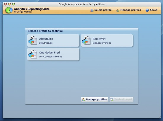 Revisa las estadisticas desde tu escritorio con Google Analytics AIR