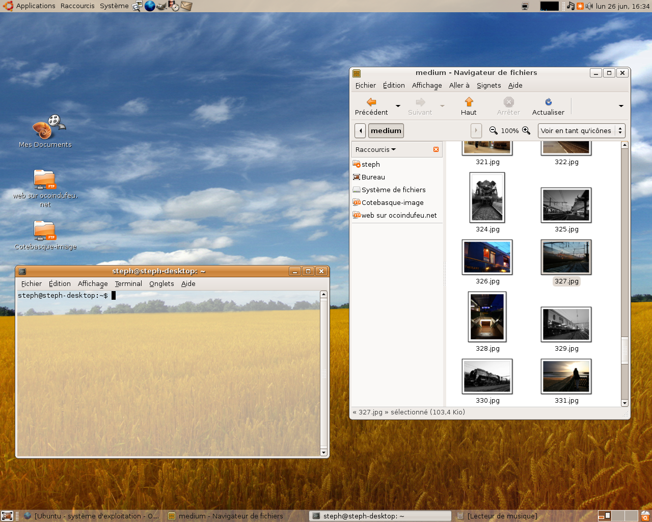 Ubuntu 7.10 desktop amd64 iso with http webseeds
